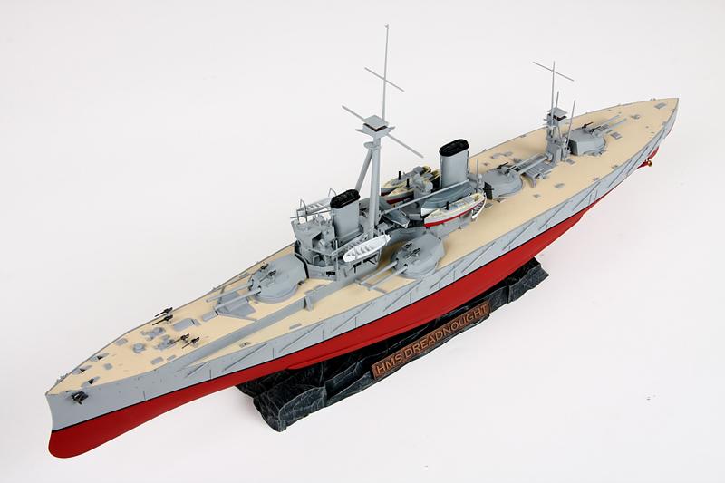 """Zvezda au 1/350 """"HMS Dreadnought"""" 1210"""